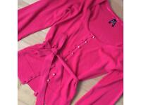 Pinky very girly jumper size 6-8