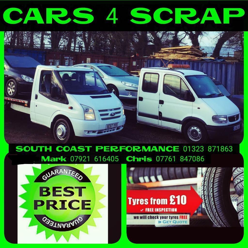 WANTED all cars vans 4x4 barn garage find unwanted mot failure scrap ...