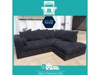 👖HAIL New👖2 Seater £169 3 Seater £195 3+2 £295 Corner Sofa £295-Crushed Velvet Jumbo Cord Brand👖