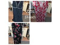 Ladies plus size clothing £50