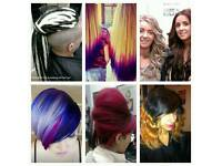 Hair extensions . Weaves microrings dreads cuts colours and more
