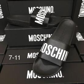 Moschino Flip Flop Sliders