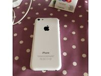 Immaculate iPhone 5c (white)