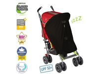 Snooze shade for pushchairs