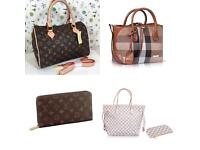 Lv neverfull lv speedy Burberry hermes handbags michael kors