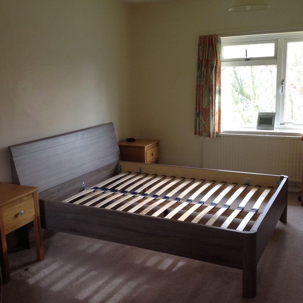 Melbourne Bedroom Furniture Melbourne Oak Wooden King Size Bed Frame In Farnborough