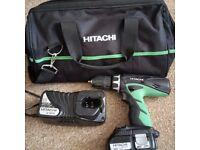 Hitachi 18v Combi Drill