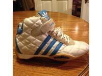 Rare Adidas monaco f1/boxing boots