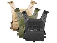 Valken Airsoft Light Weight Molle Plate Carrier LC Adjustable Magazine Pouches