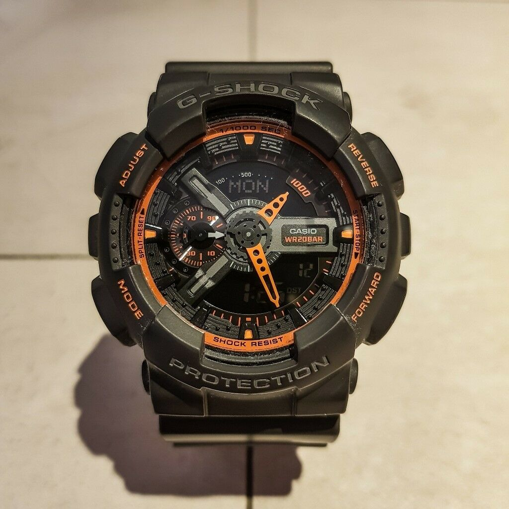 Casio G Shock GA-110TS-1A4 Mens Watch  3f862d2560