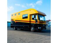 Iveco Tector Horse Box - Condition has to be seen to be believed