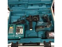 Makita DHR242 Cordless Drill + Battery, Charger & Case