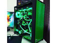 Watercooled Gaming PC   SLI 980TI   i7 5930k   16GB RAM   X2 500GB SSD's   Windows 10