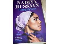 "Nadiya Hussain ""Finding my voice"" book"