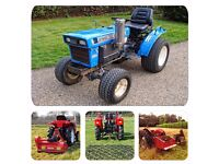 Iseki TX2160 4WD 16HP Sub-Compact Tractor & Implement Package