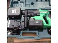 Hitachi 24 volt hammer drills the is 2 of them for sale