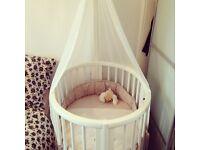 Stokke mini crib white