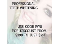 PROFESSIONAL TEETH WHITENING KIT MASSIVE SAVINGS LIMITED TIME