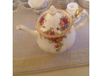 Royal Albert tea pot