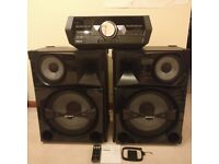 Sony Shake-5 - 2400W Home Audio System with LED lighting & DJ effects
