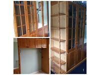 Beautiful pine wardrobe set