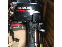 Outboard engine suzuki 4hp 4 stroke