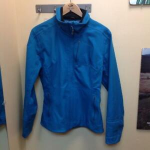 Nils Women's Softshell Jacket (Blue/Black) - size 8 (9WZD5Y)