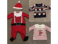 Christmas clothes all 3-6months