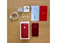 iPhone 7 Plus RED 128gb UNLOCKED
