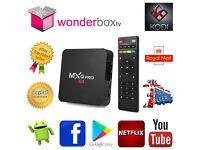 MXQ Pro 64 bit Quad Core 4K Android 6 Marshmallow Smart TV Box Kodi 17.4 Krypton