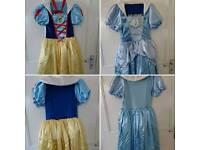Cinderella/Snow White Fancy Dress Age 7-8