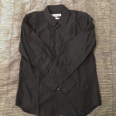 Comme Des Garçons Shirt CDG small charcoal black shirts MADE IN FRANCE