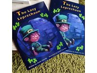 "Belfast Author - ""The Lazy Leprechaun"": Children's Book"