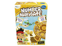 Jake and The Neverland Pirates Number Navigate - educational game for 3+
