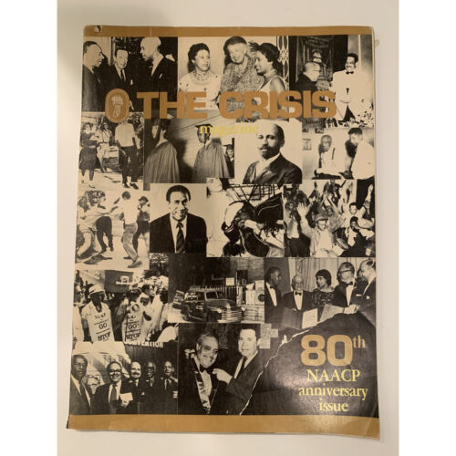 The Crisis Magazine 80th NAACP anniversary issue