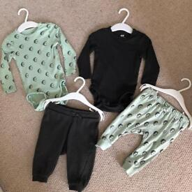 6-9 month baby outfit x2