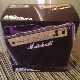 Marshall MG15DFX Amp