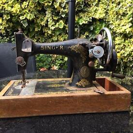 Singer hand sewing machine
