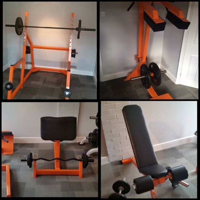 Powertec workbench leverage system free weight home gym wb ls b