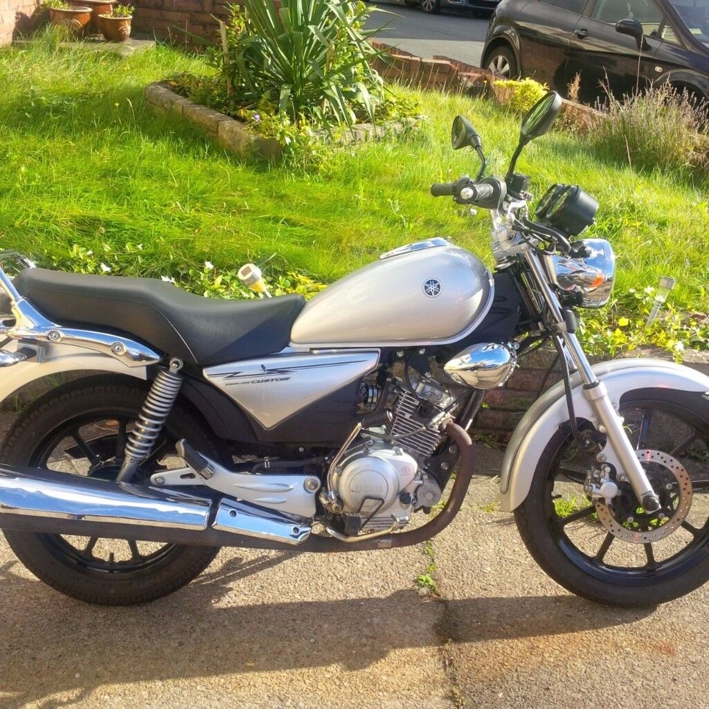 2015 Yamaha YBR 125 Custom - 10 months MOT