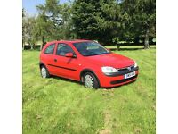 2001 Vauxhall Corsa Automatic in near showroom condition