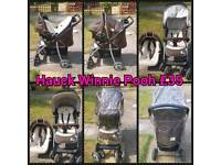 Hauck Travel System With Rain Cover