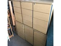Job Lot of Office Pedestals