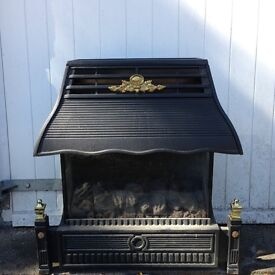 Flavel Emberglow Gas Fire Black