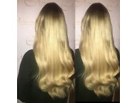 £100 Luxury Virgin Hair Extensions.Micro Ring.Tape.QUALIFIED HAIRDRESSERS.Over 10 years experience.