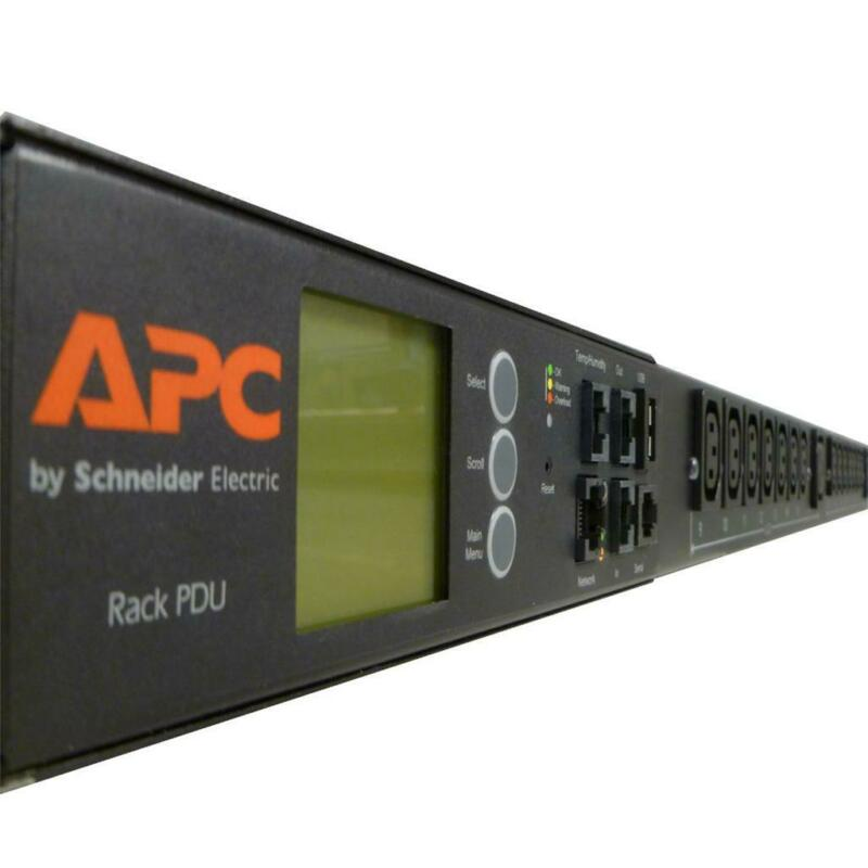 APC AP8861 METERED RACK PDU 2G SERVER RACKS POWER C13, C19, VERTICAL MOUNT