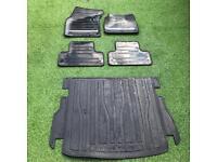 Land Rover Evoque Rubber Mats Set & Boot Mat