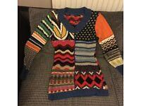 DESIGUAL jumper, GAP jumper, LEVIS shorts