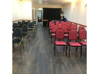 hall/studio to hire @ E15 3JJ near stratford/Plaistow stations cheapest hourly rate around