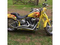 Harley Davison screaming eagle CVO spring of 2009